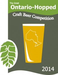 Only 8 spots left for the 2014 Great Ontario-Hopped Craft Beer Competition