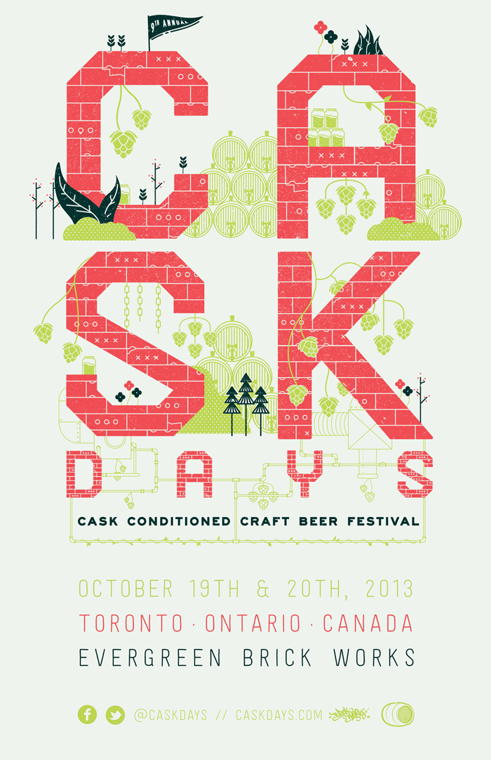 Tickets for cask days 2013 still available ontario hop for Craft beer festival toronto